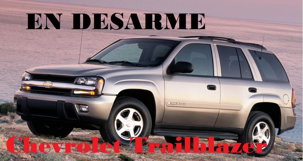 Trailblazer 2005 en desarme